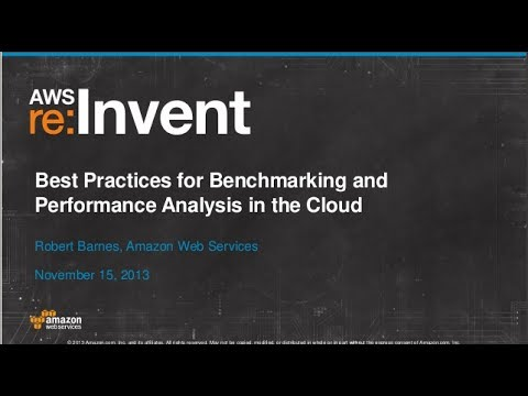Best Practices for Cloud Benchmarking and Performance Analysis