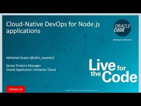Cloud Native DevOps for Node.js Applications
