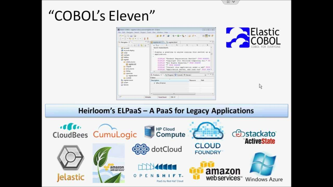 COBOL in the Cloud