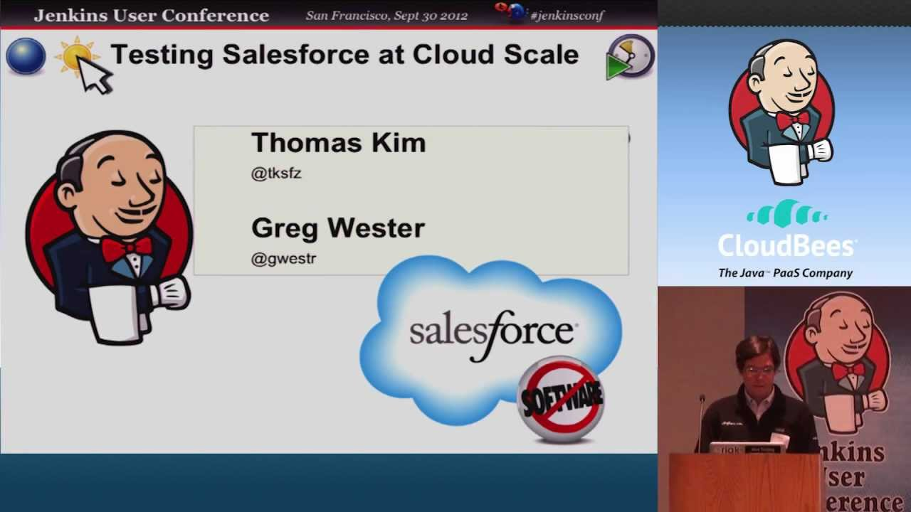 Software Testing Salesforce at Cloud Scale