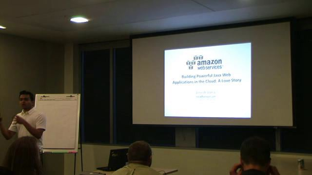 Building Java Web Applications for the AWS Cloud