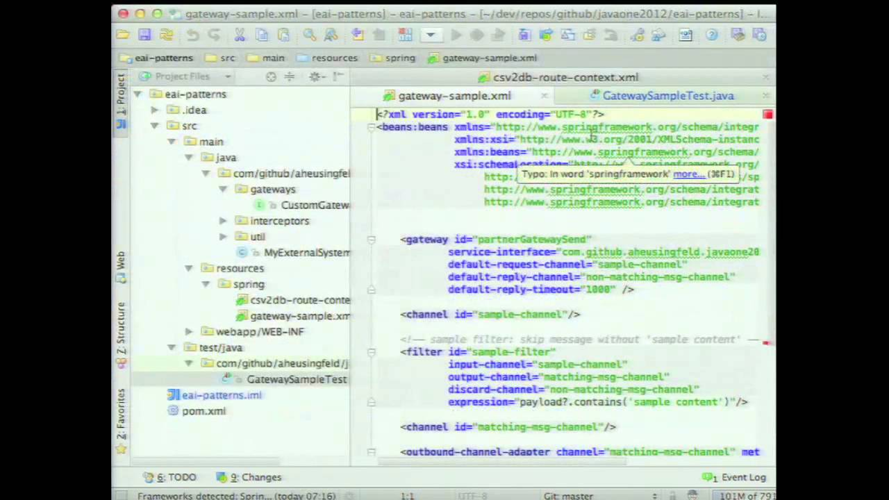 Enterprise Application Integration Patterns for Java in the Cloud