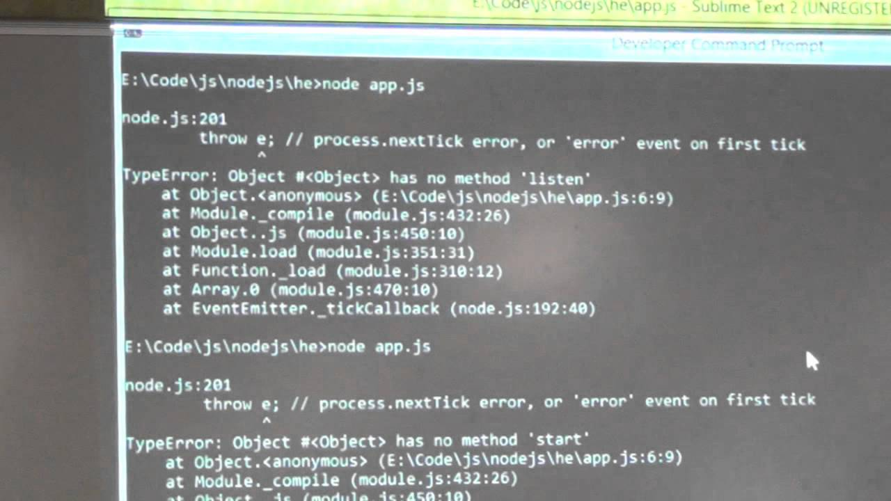 Node.js on Windows Azure