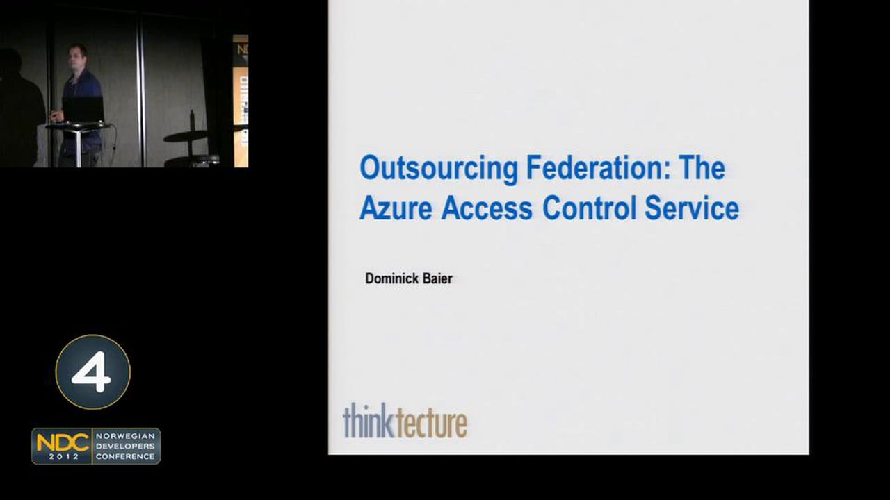 Outsourcing Security to Windows Azure